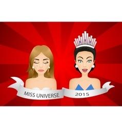 Miss universe 2015 contest wrong winner vector