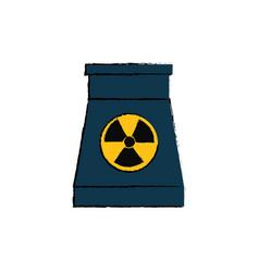 Nuclear energy plant vector