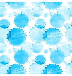 Seamless pattern with watercolor splash texture vector image