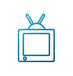 television media technology vector image