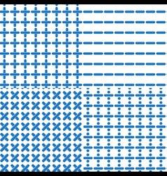 Mathematical Symbol Seamless Pattern vector image