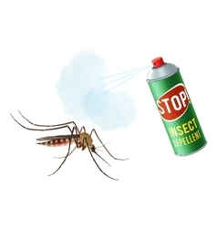 Anti mosquito spray vector