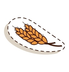 autumn icon isolated vector image