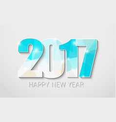 Banner template background happy new year 2017 vector