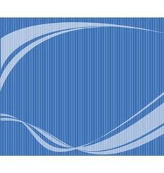 Blue background wave vector