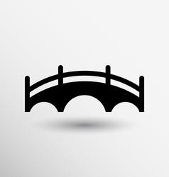 Bridge icon button logo symbol concept vector