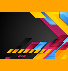 Colorful technology corporate abstract background vector