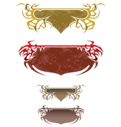 fantasy frames vector image