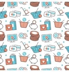 Modern seamless pattern texture background vector