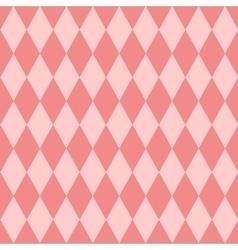Pink tile pattern vector image
