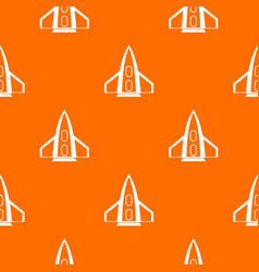 Rocket pattern seamless vector