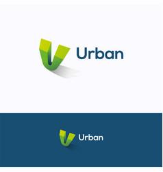 Urban logo vector