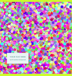 Seamless Confetti Pattern vector image vector image