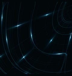 Abstract shiny technology vector
