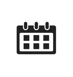 Calendar icon reminder agenda sign business vector