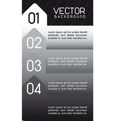 Design of advertisement numbers vector