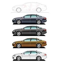 Executive car vector
