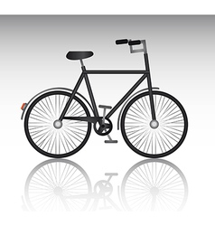 Isolate bicycle vector