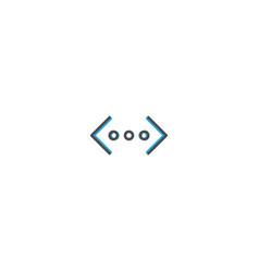 more icon design essential icon vector image