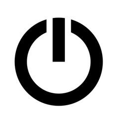 Power symbol icon vector