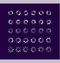 progress loading bar vector image
