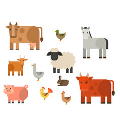 farm icon nature food vector image
