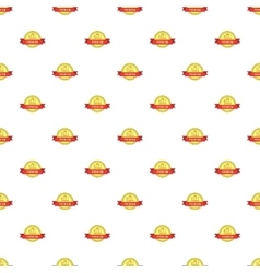 Label high special price pattern cartoon style vector