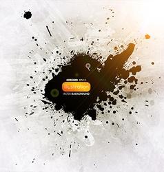 Grunge Splatter Background vector image