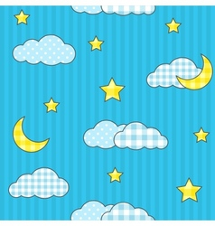 Night sky 2 vector image vector image