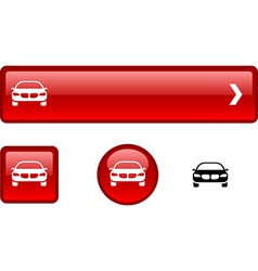 Car button set vector