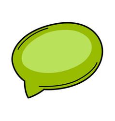 Cartoon speech bubble vector