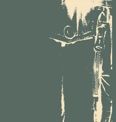 Grunge style jacket backdrop vector