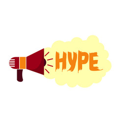 Hype in social networks trends in advertising and vector