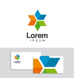 logo design element 30 vector image vector image
