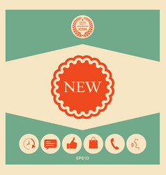 new offer icon vector image