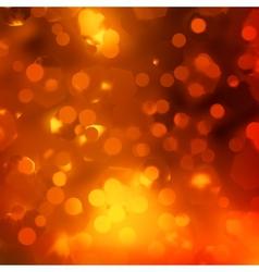 Orange magic lights bokeh EPS 10 vector