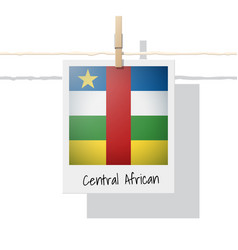 Photo of central africa flag vector