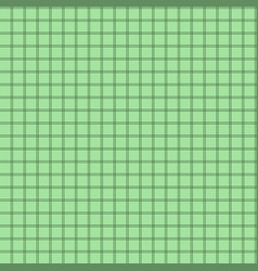 seamless background of colored grid green mosaic vector image