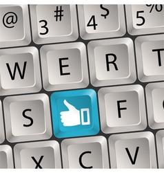 concept social media vector image