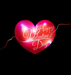 decorative valentines day background vector image vector image