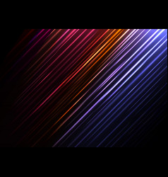 Red speed shower abstract line background vector