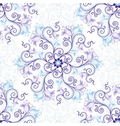 Gentle seamless pattern vector image vector image