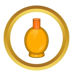 Packaging for perfume icon vector image vector image