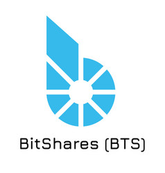 Bitshares bts crypto coin vector