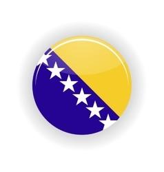 Bosnia and Herzegovina icon circle vector image