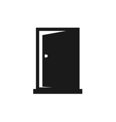 door icon design template isolated vector image
