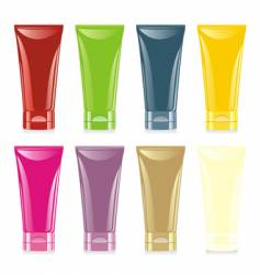 face and hand cream set vector image vector image