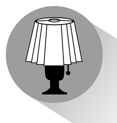 Lamp bedroom vector