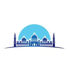 Mosque design vector