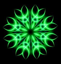 Neon element vector image